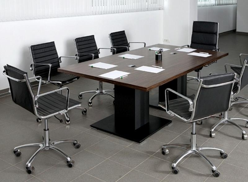 Конференц стол, кормежка интересах переговоров