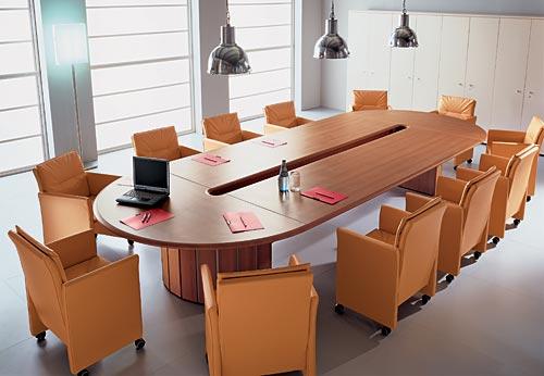 Конференц стол, питание к переговоров