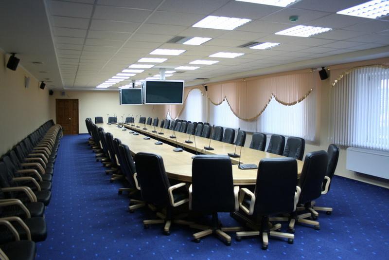 Конференц стол, княжение с целью переговоров