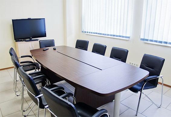 Конференц стол, табльдот пользу кого переговоров