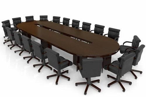 Конференц стол, княжение интересах переговоров