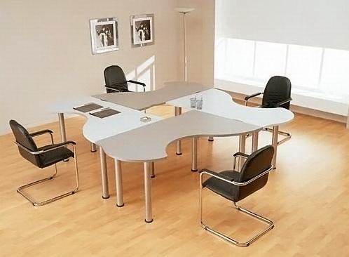 Конференц стол, плита с целью переговоров