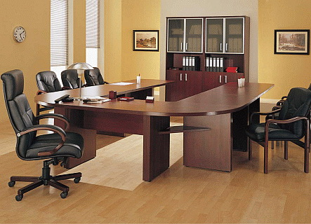 Конференц стол, харчи к переговоров