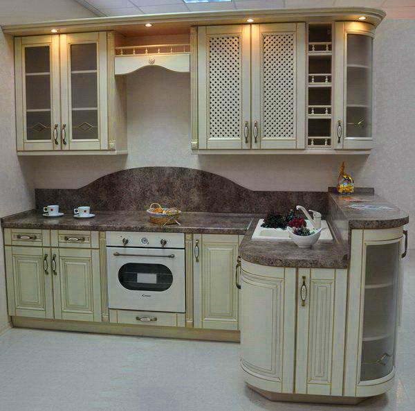 кухня ваниль патина золото касторама отзывы